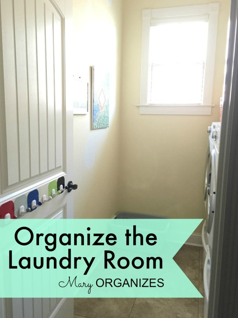 Mary Organizes - Organize the Laundry Room - 2
