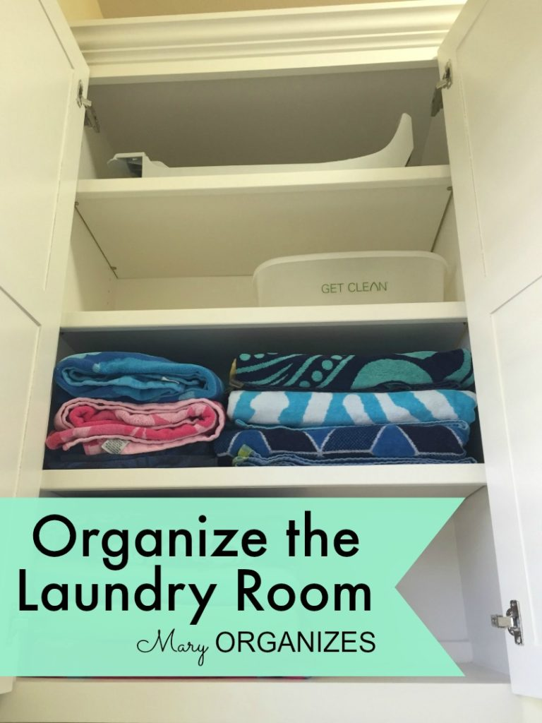 Mary Organizes - Organize the Laundry Room - 4