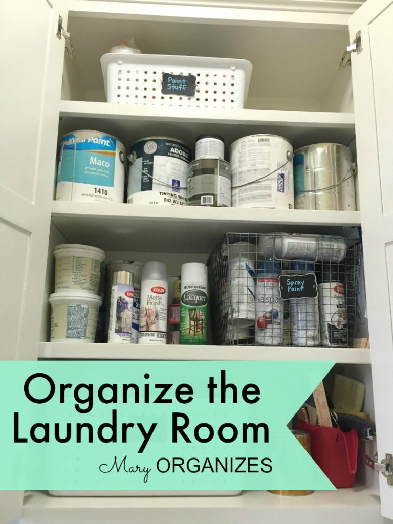 Mary Organizes - Organize the Laundry Room - 5