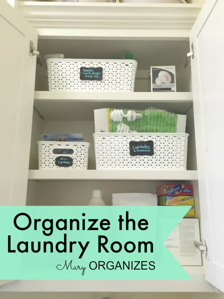 Mary Organizes - Organize the Laundry Room - 6