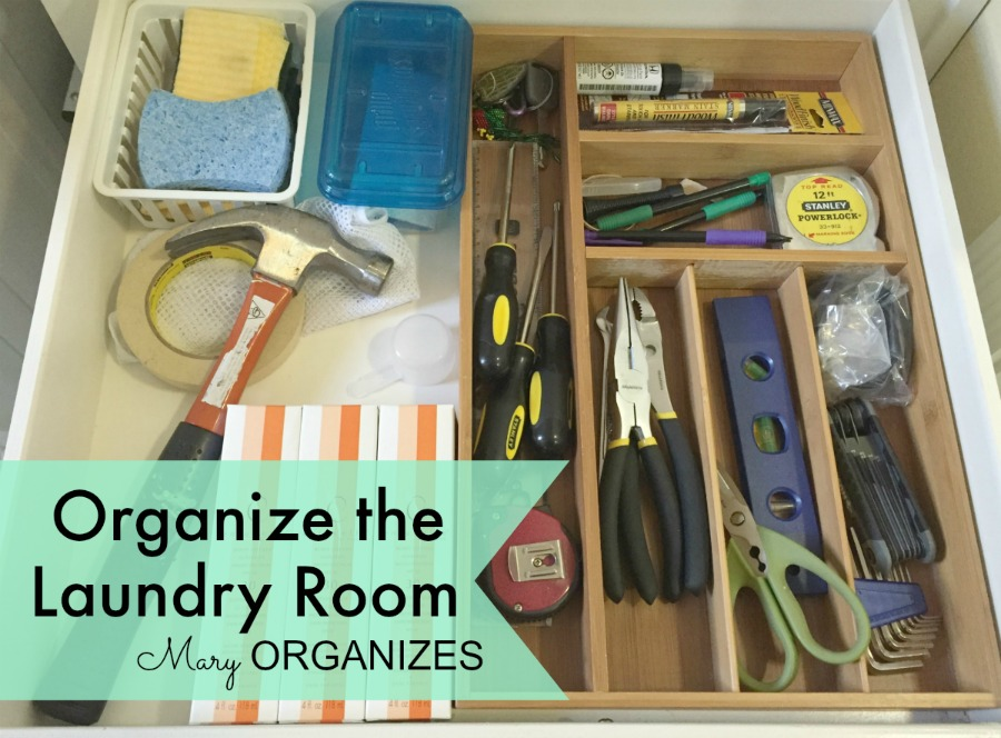 Mary Organizes - Organize the Laundry Room - 8