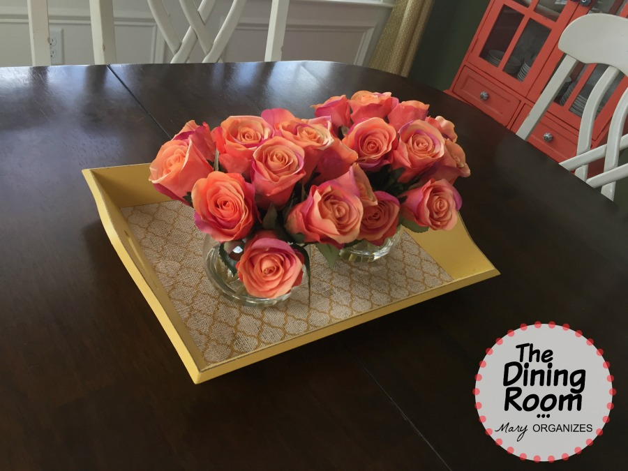 The Dining Room - Tray Flowers