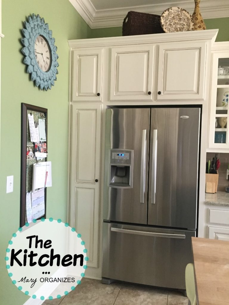 The Kitchen - Fridge and Broom Closet
