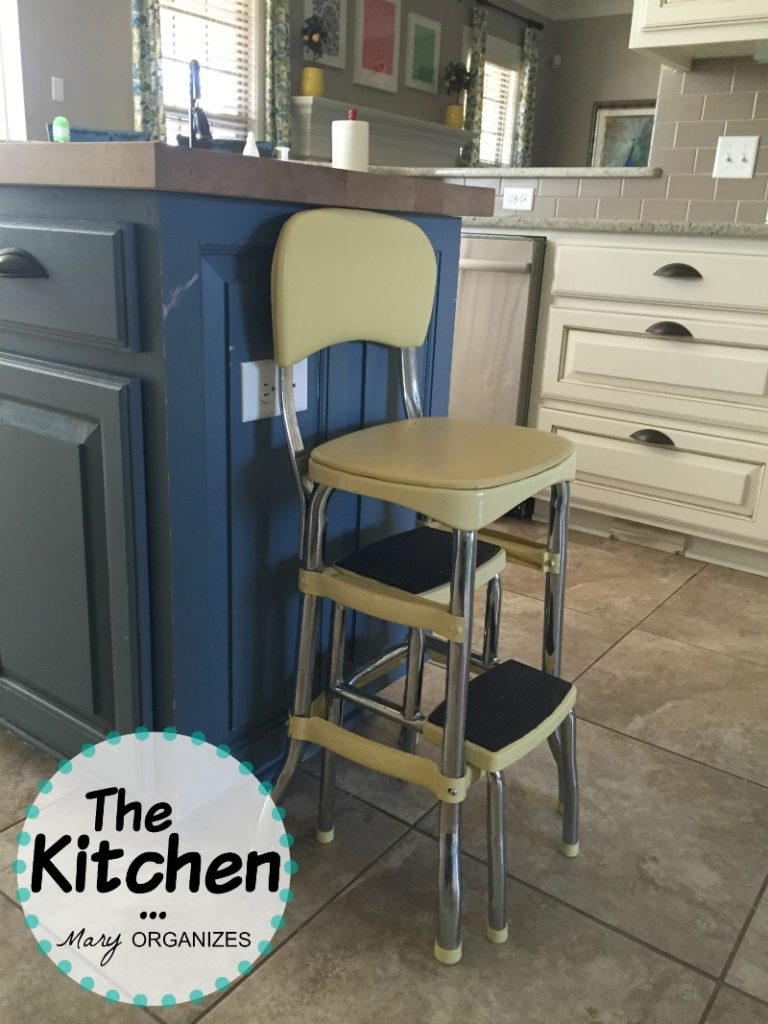 The Kitchen - Yellow Stool
