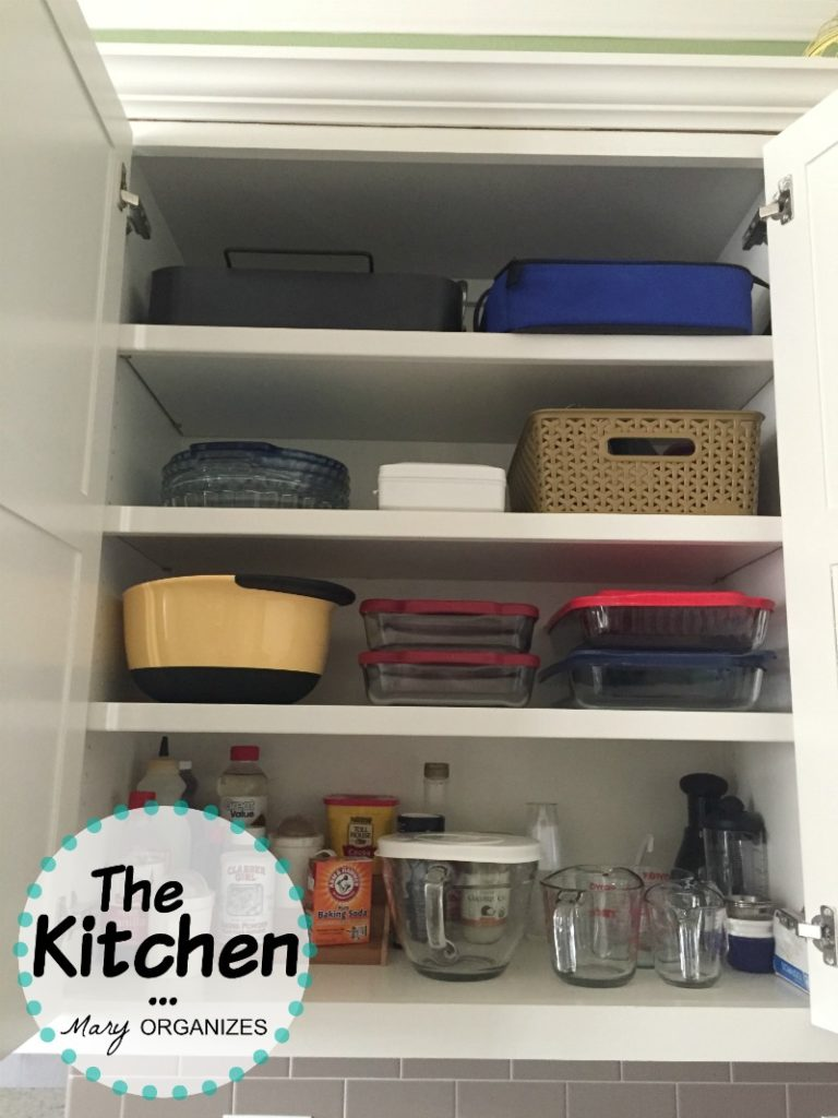 The Kitchen - baking cupboard