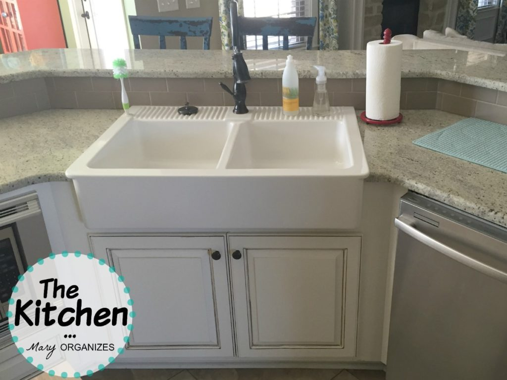 The Kitchen - farmhouse sink