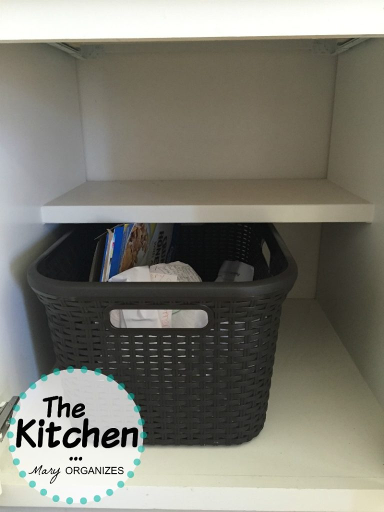 The Kitchen - recycling cabinet