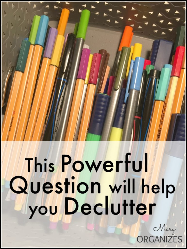 This Powerful Question will help you Declutter