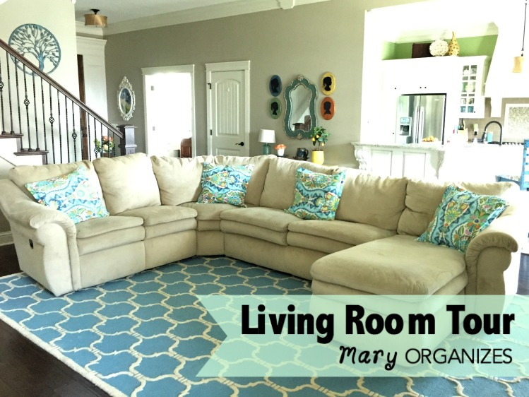 The living room home tour for Comfy family room couch