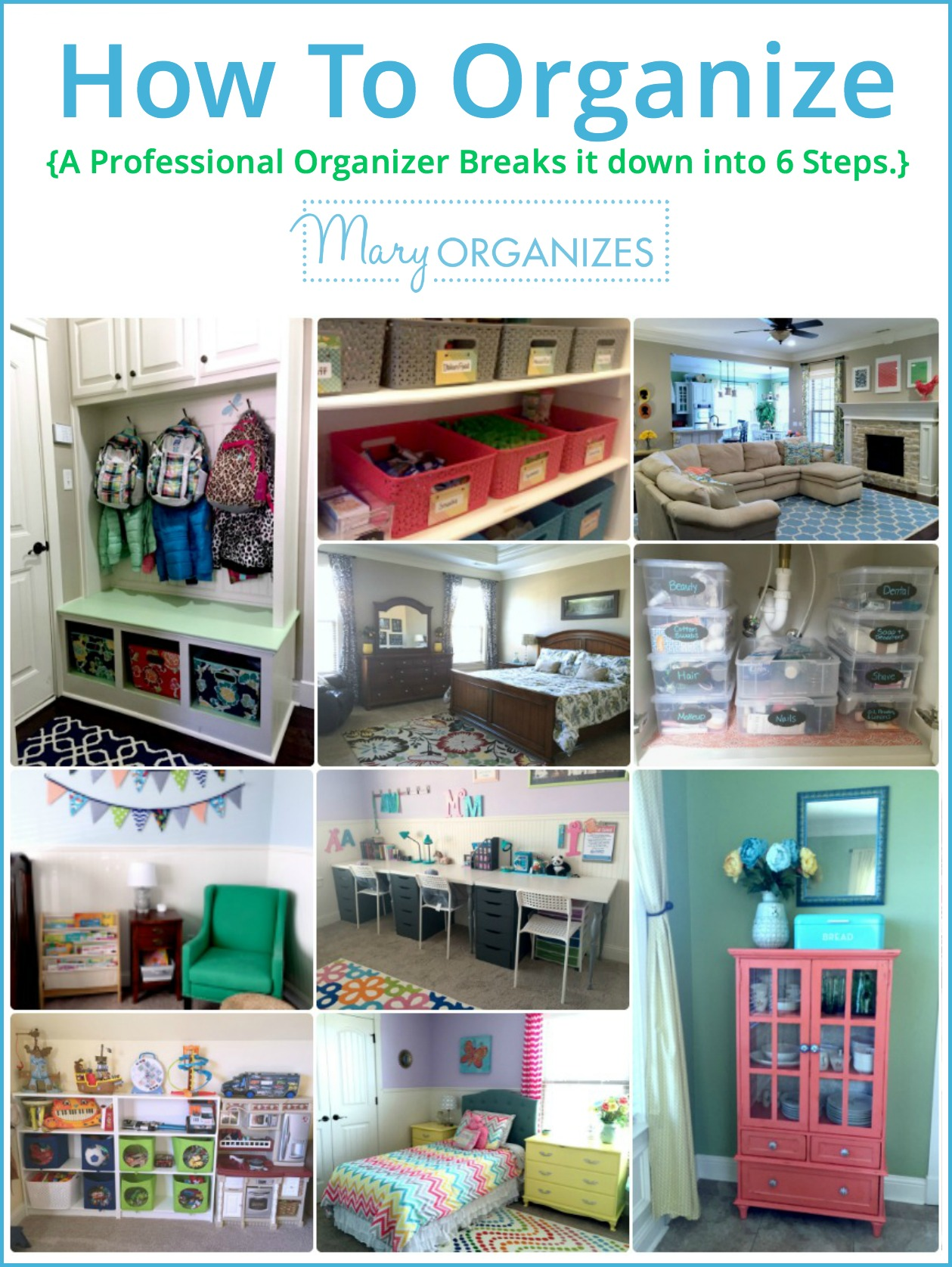How To Organize - guide from a professional organizer -v