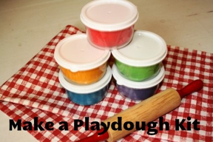 Lifeasmom - homemade playdough