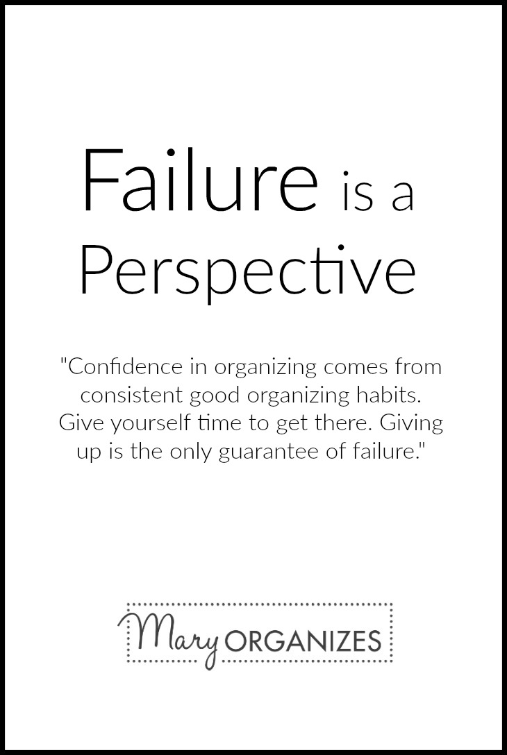 Failure is a perspective