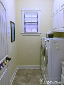 Why an Organized Laundry Room?