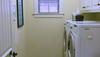 Why An Organized Laundry Room