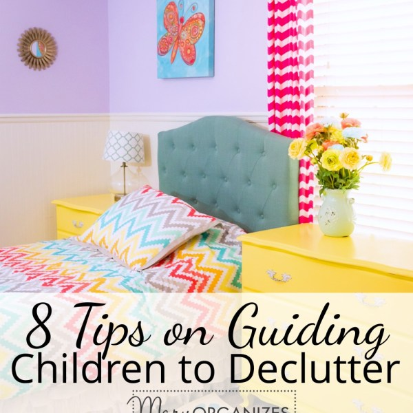 Guiding Children to Declutter
