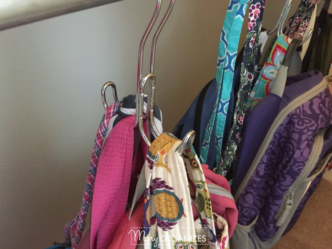 Girls Room Tour - 6 Closet Bag Holder