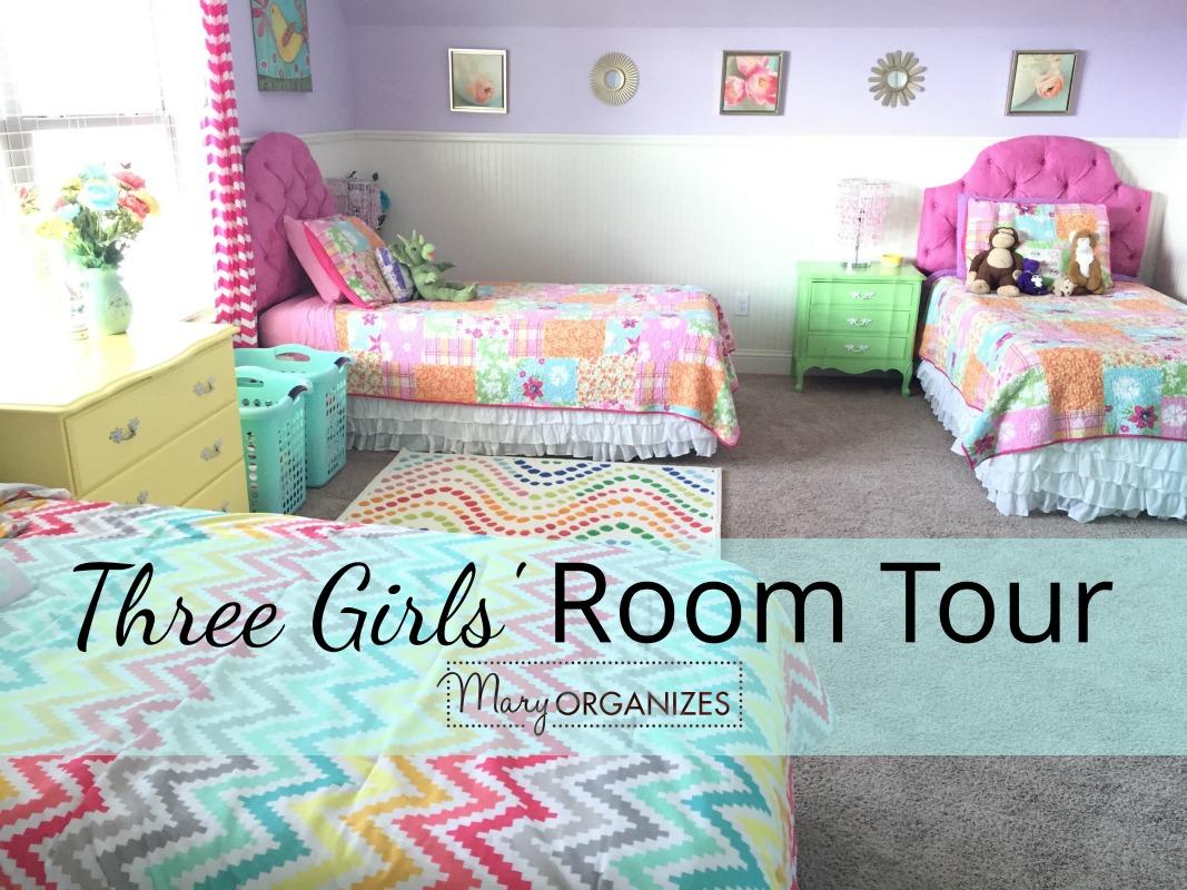 Three Girls Room Tour