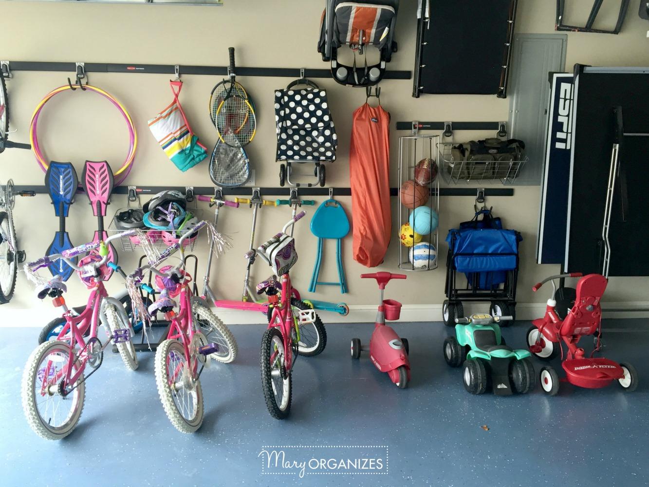 My Re-Organized Garage Reveal 2