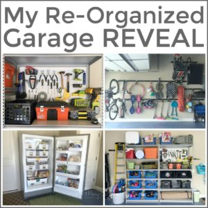 My Re Organized Garage Reveal  S