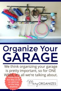 Organize Your Garage - GARAGE WEEK! -v