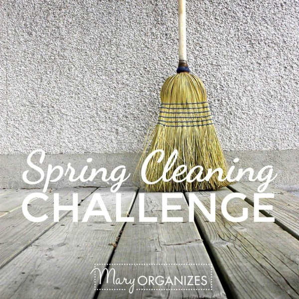 Spring Cleaning Challenge Starts Monday!