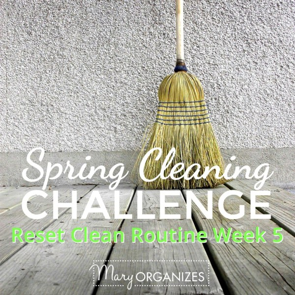 Week #5: Reset Clean Routine {Spring Cleaning Challenge 2016}