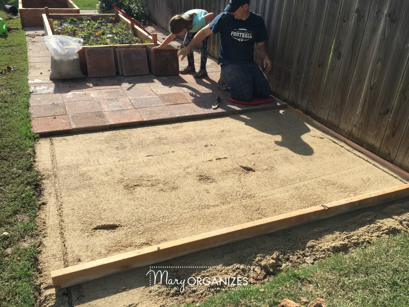 How To Install Paver Patio - My Raised Garden Foundation 13