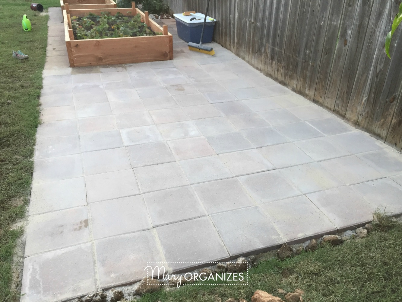How To Install Paver Patio - My Raised Garden Foundation 18