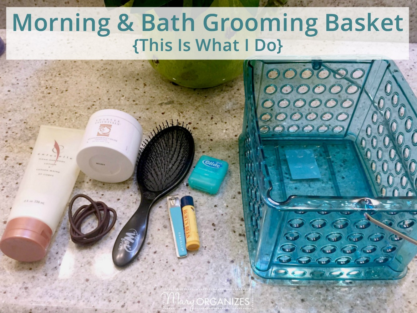 Morning and Bath Grooming Baskets TIWID -h2