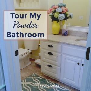 Tour My Powder Bathroom