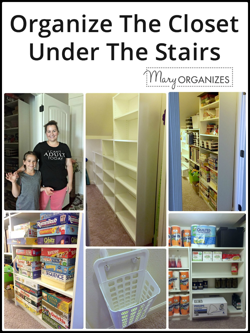 Closet Under The Stairs Update -v