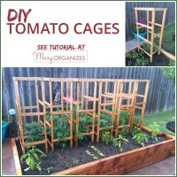 DIY Tomato Cage Tutorial {Garden Tips} - creatingmaryshome.com