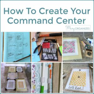 How To Create Your Command Center -s