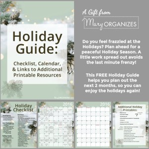 2016 Holiday Guide {FREE PRINTABLE}