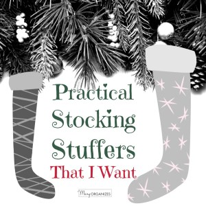 Practical Stocking Stuffers (that I want!)