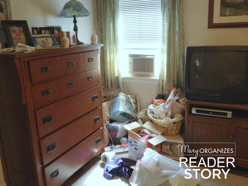 reader story - bedroom corner before