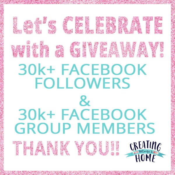 Time to Celebrate: 30k!!! Giveaway Time!