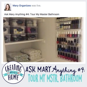 ASK MARY ANYTHING #4 – TOUR MY MASTER BATHROOM