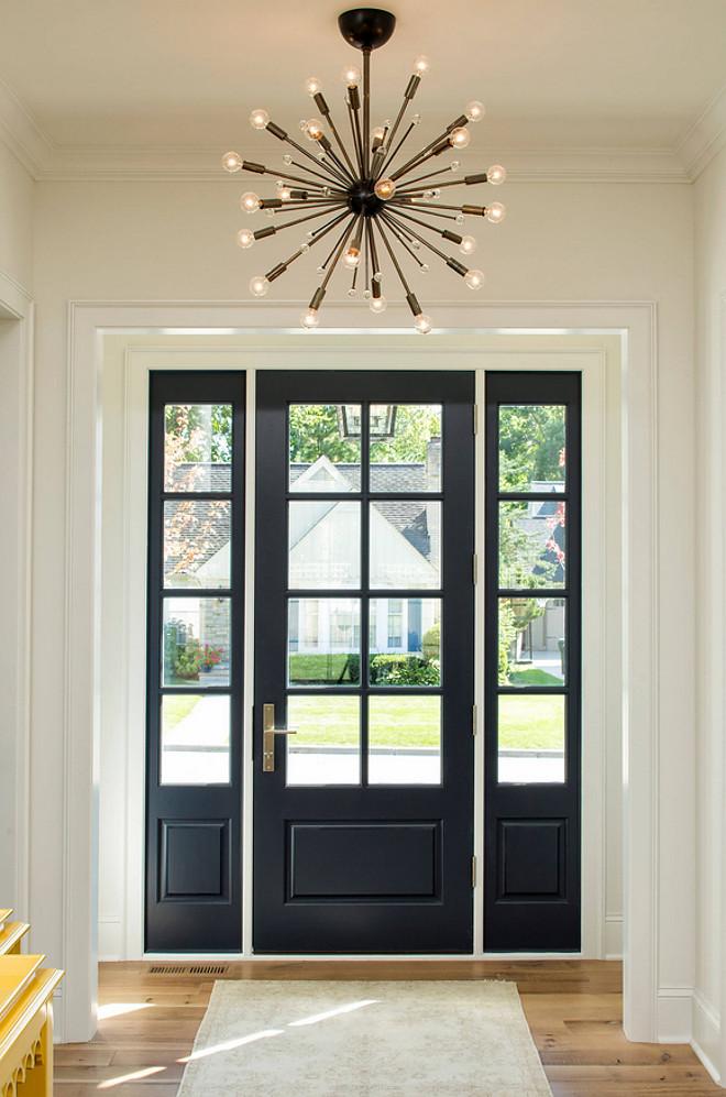 White Trim Dark Paint Why Im Going Dark With My Doors