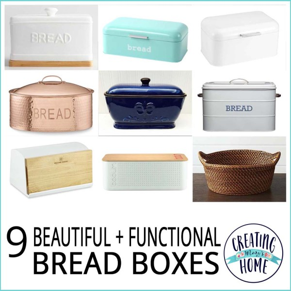 9 Beautiful + Functional Bread Boxes