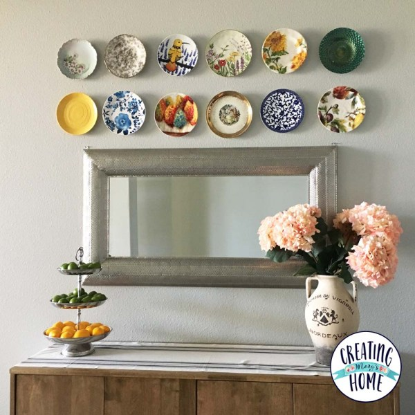 How To Hang Plates On Your Wall