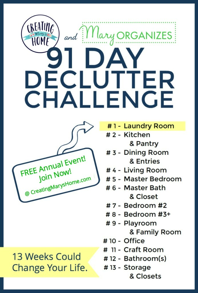 30 Day Challenge Cleaning Bedroom