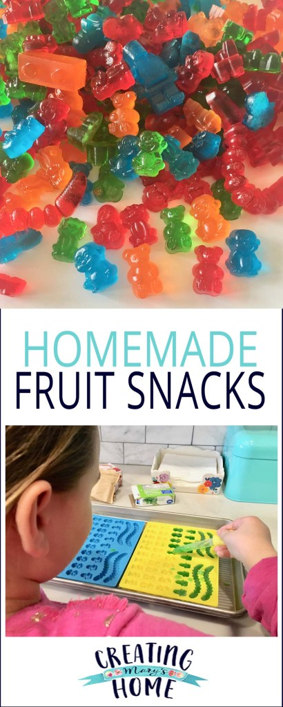 Homemade Fruit Snacks {Jello}