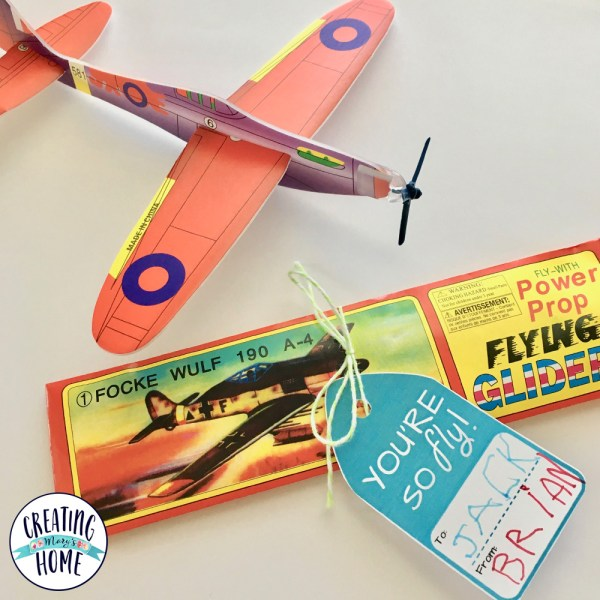 "Valentines Printable ""You're So Fly!"" {Airplane Theme}"