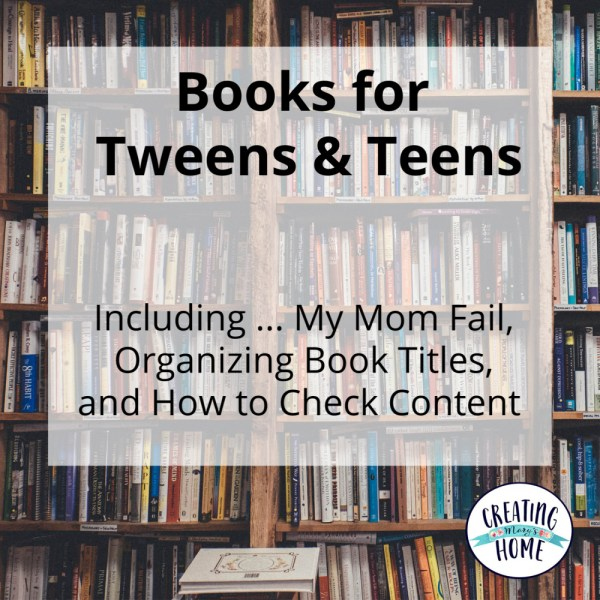 Tween & Teen Books
