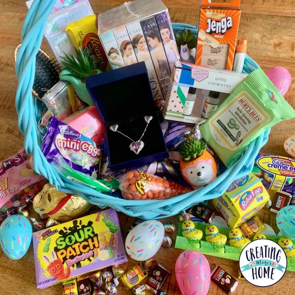 Teen & Tween Girl Easter Basket Ideas (non-candy!)