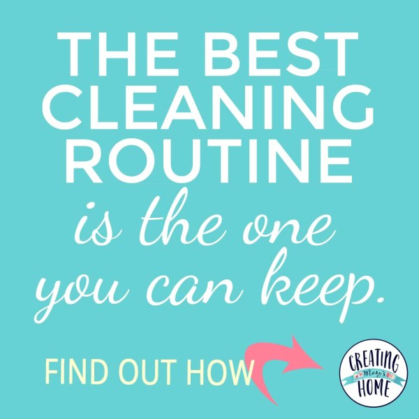 The Best Cleaning Routine