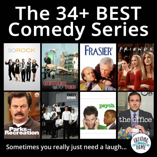 34+ of the BEST Comedy Series