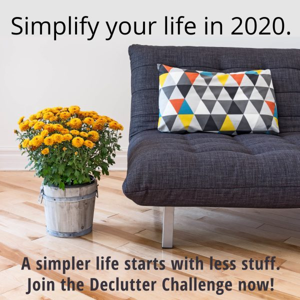 Declutter Challenge starts so soon! Get ready!