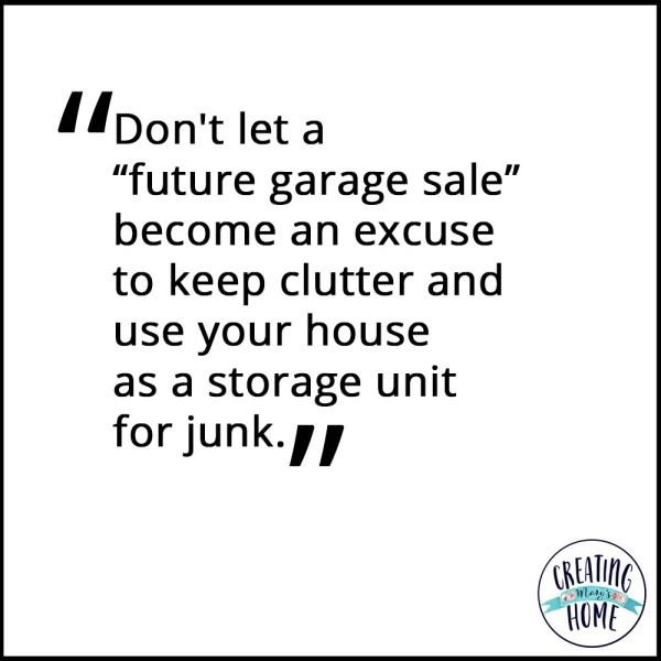 When to Avoid Garage Sales